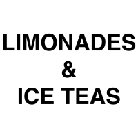 Limonades & Ice Teas