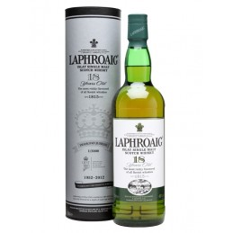 Laphroaig 18 years - 48%...