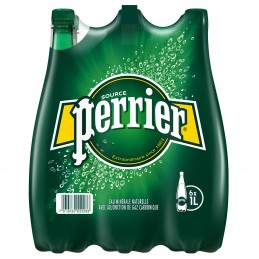 Perrier Naturel PET (6 x 1L)