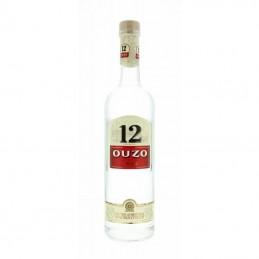 """Ouzo """"12"""" - 38% vol - 70cl"""