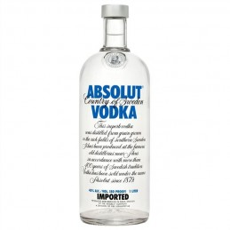 Absolut vodka 40% vol 1L