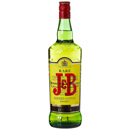 J & B Scotch whisky 40% vol 1L
