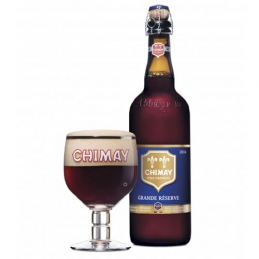Chimay trappiste bleue 9°...