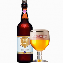 Chimay trappiste blanche 8°...